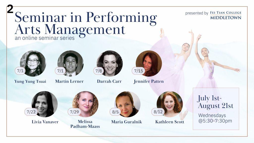 Seminar in Performing Arts Management